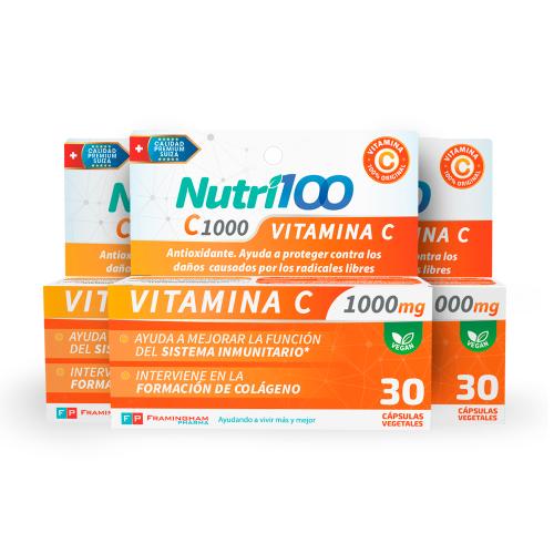 Nutri100 C1000 Pack x 3