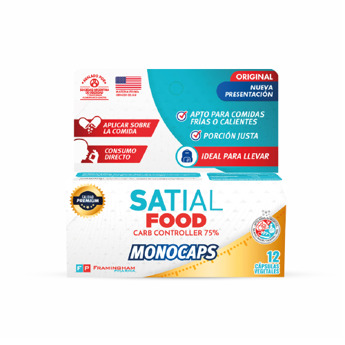 Satial Food Monocaps X12 Capsulas Pack X24