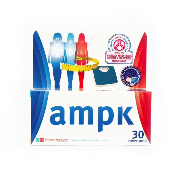 AMPK X30 Comprimidos Pack X12