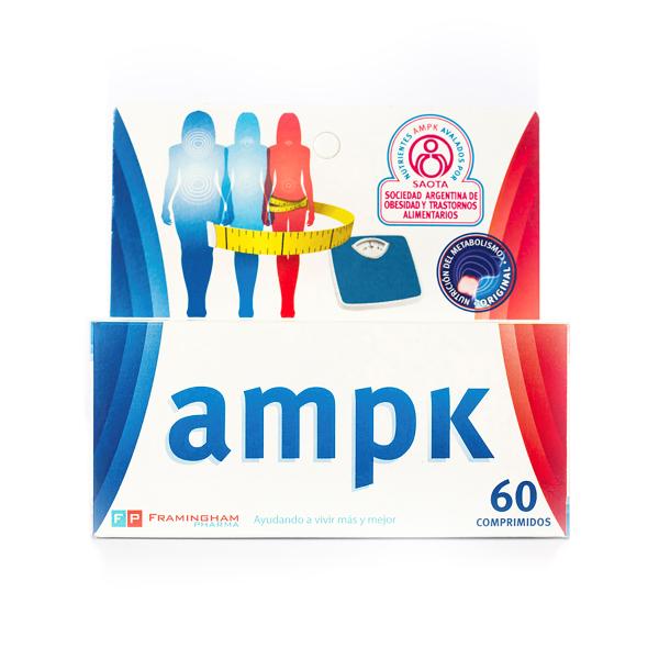 AMPK X60 Comprimidos Pack X12