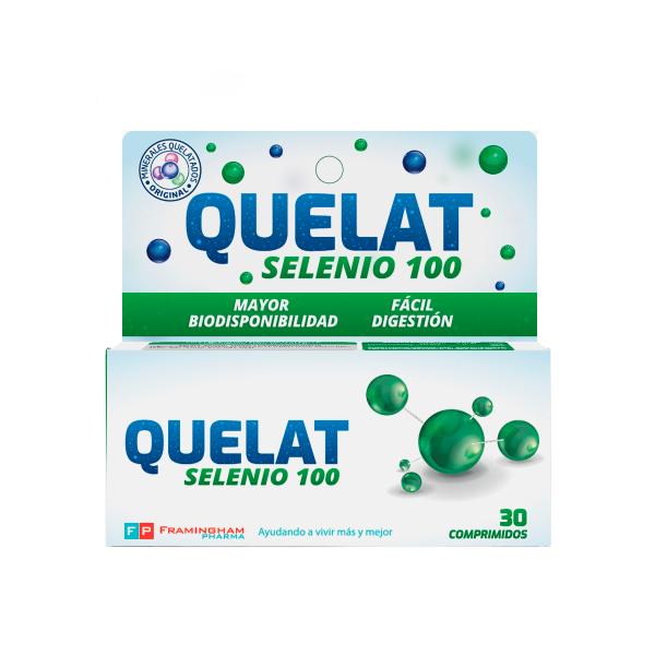 QUELAT Selenio 100 X30 Comprimidos Pack X12