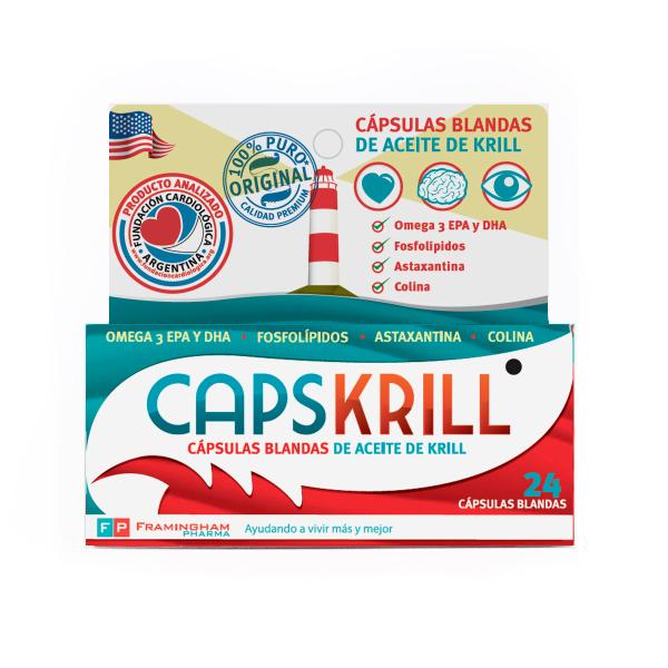 CAPSKRILL 24 Capsulas  blandas Pack X12
