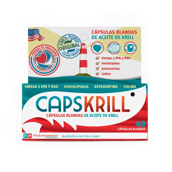 CAPSKRILL 40 Capsulas blandas Pack X12