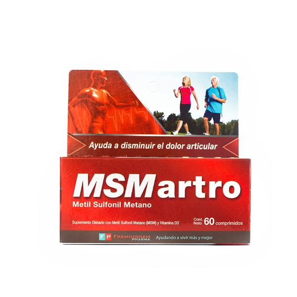 MSMartro 60 Comprimidos Pack X24