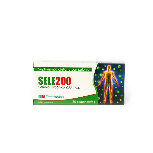 SELE200 X30 Comprimidos Pack X24