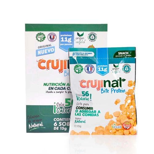 Crujinat Bite Protein Pack x6
