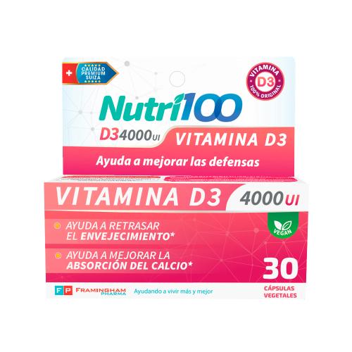 Nutri100 D3 4000 UI Pack x24