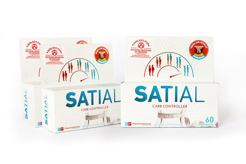 Satial comprimidos para 3 meses (180 comprimidos) - Carb Controller - Combo