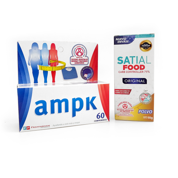 Combo Satial Food + AMPK 60 Comprimidos