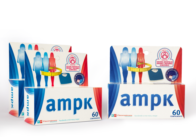 Combo AMPK x 180 comprimidos (60 comprimidos x 3)