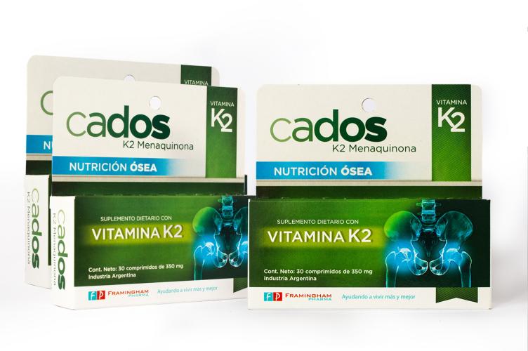 SUPER OFERTA- - CADOS Vitamina K2 3x2 (un cados de regalo!)