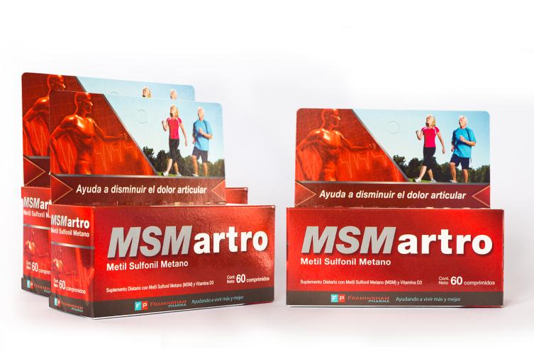 Combo MSMartro x 180 comprimidos (60 comprimidos x 3)