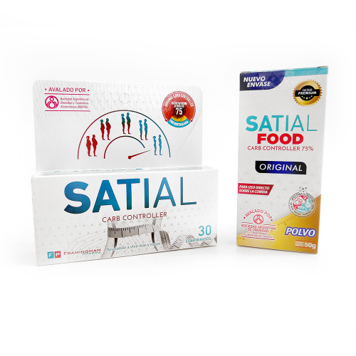 Combo Satial Food + Satial Carb Controller 30 comprimidos