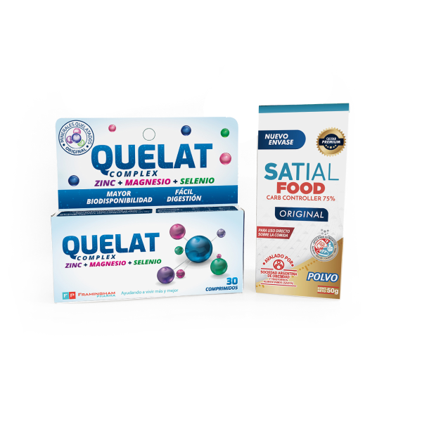 Combo Quelat Complex + Satial Food