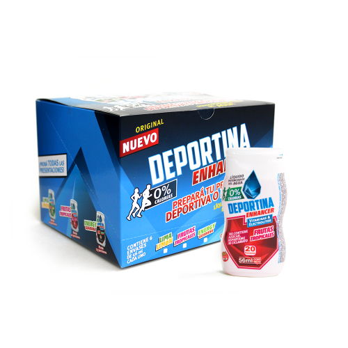 Caja Deportina Enhancer - Frutas Tropicales