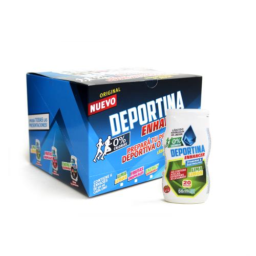 Caja Deportina Enhacer - Lima Limón