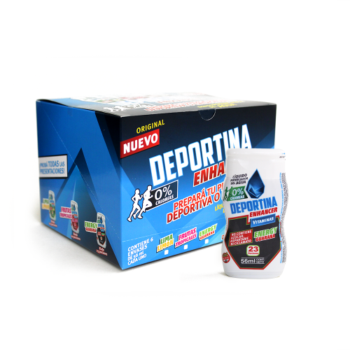 Caja Deportina Energy  - Guarana