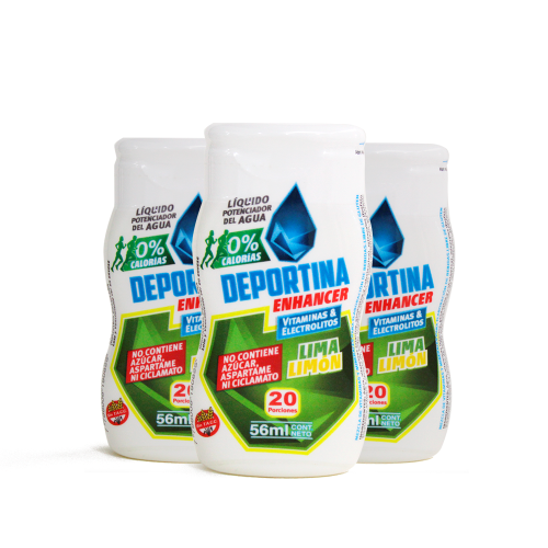 Deportina Enhacer Pack x 3 - Lima Limon