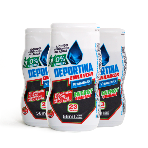 Deportina Energy  Pack x3 - Guarana