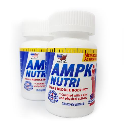 2 x 1 AMPK NUTRI - Cápsulas vegetarianas importado EEUU