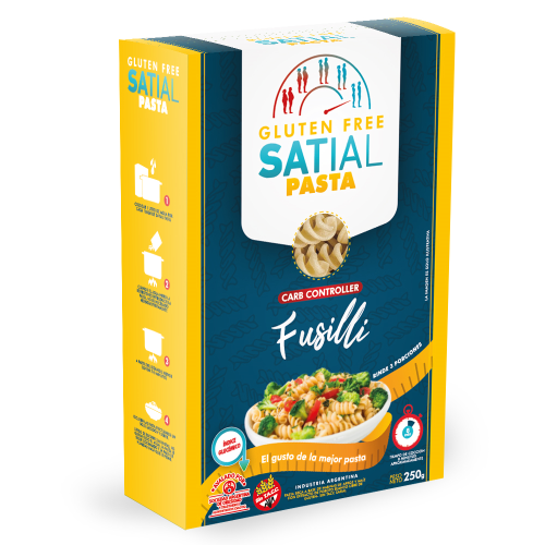 Satial Pasta Gluten Free - 250 g de Fusillis