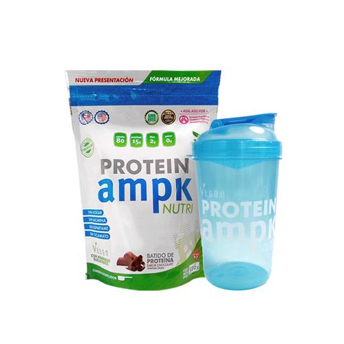 AMPK Protein Chocolate + Shaker Azul