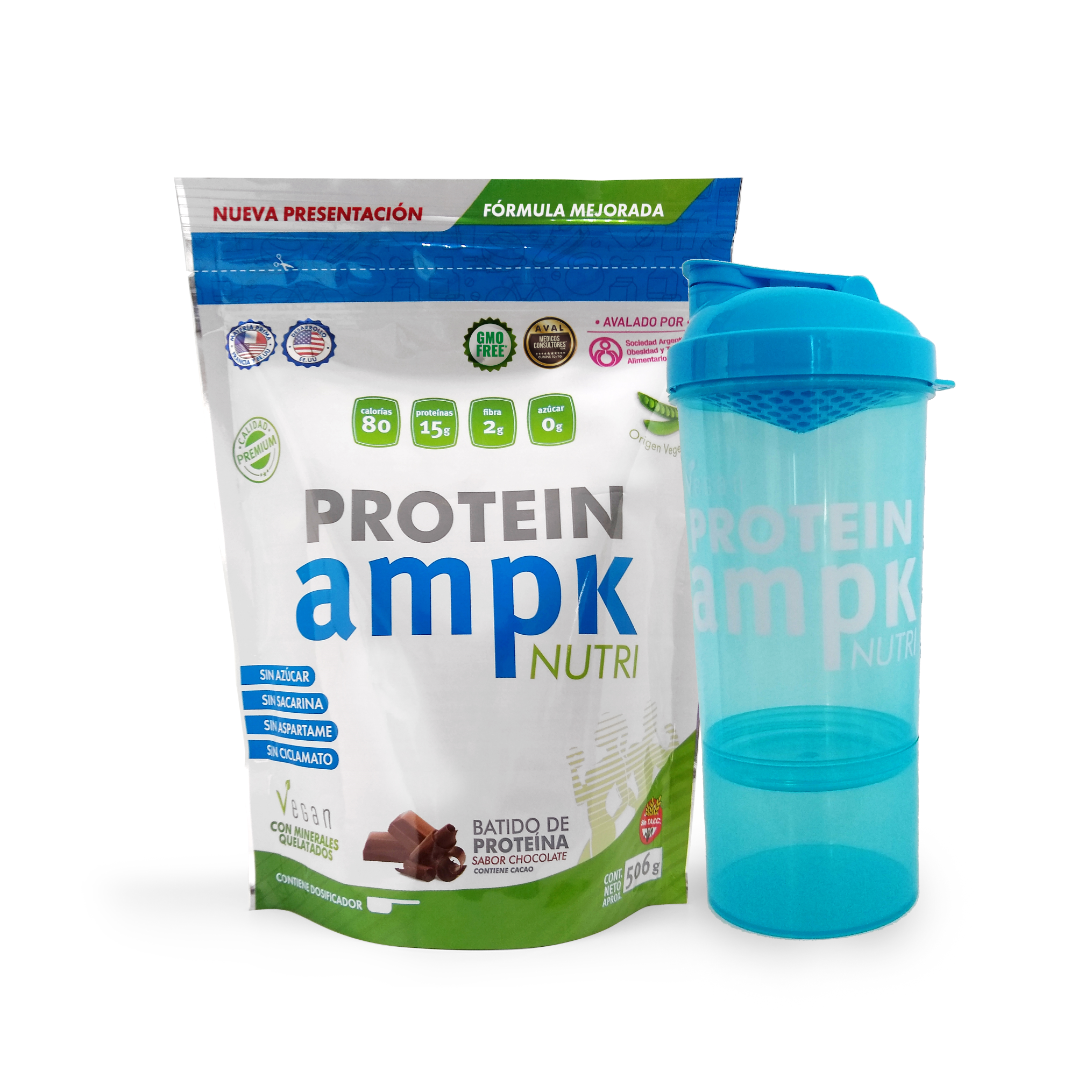 AMPK Protein + Shaker Azul