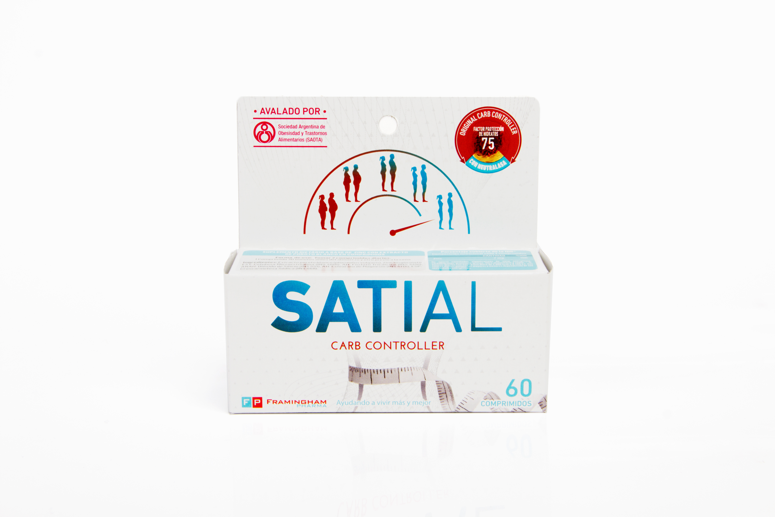 Satial Carb Controller 60 Comprimidos